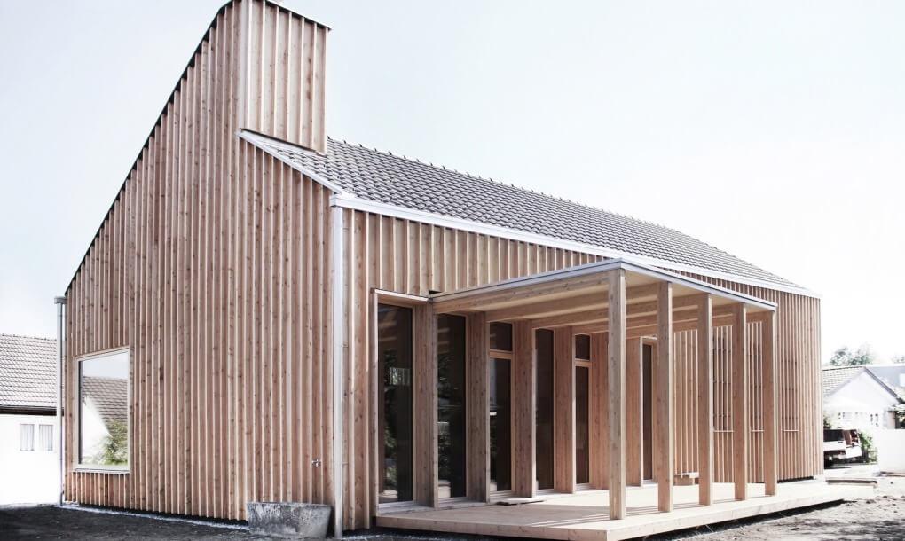 Сглобяема Къща в Швейцария